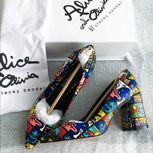 Keith Haring x Alice & Olivia heels 8.5 / 9!